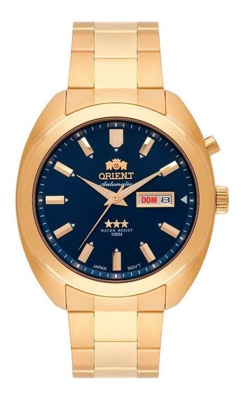 Relógio Orient Automatico 3 Estrelas Masculino 469gp077 D1kx