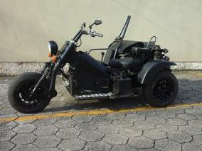 Triciclo/bobber Com Sidecar