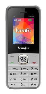 Celular Dualchip Gravador Ideal P/ Idoso Lemon Sensi 8 Cinza