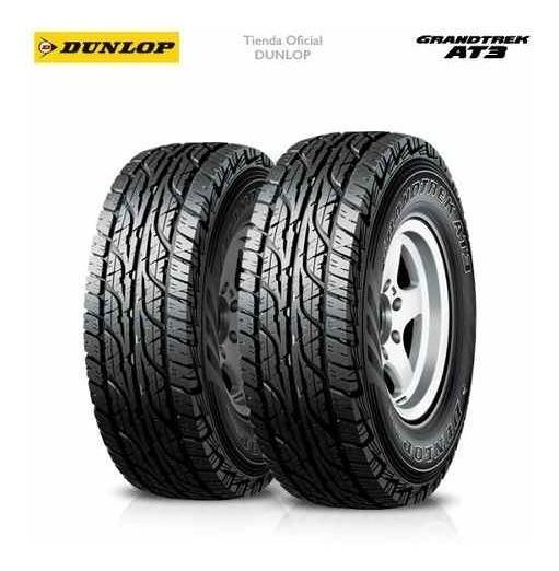 Kit X2 265/60 R18 Dunlop Grandtrek At3 + Tienda Oficial