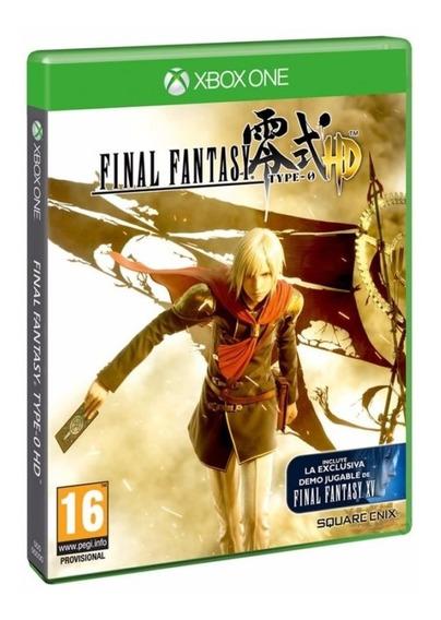 Final Fantasy Type 0 Zero Hd - Mídia Física Lacrado Xbox One