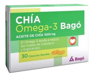 Chía Omega-3 Bagó X 30 Cápsulas