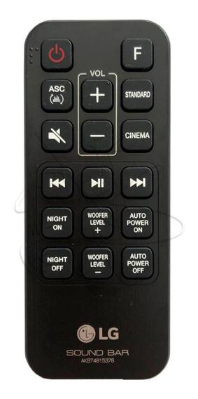 Controle Sound Bar Lg Sj3 - Original Novo!