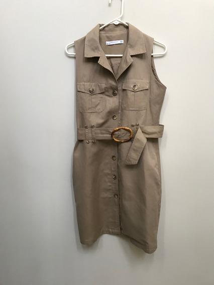 Vestido Casual Zara Woman Talla M ( B F )