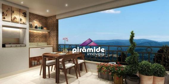 Apartamento Com 3 Dormitórios À Venda, 87 M² Por R$ 679.000 - Fonte Simão - Campos Do Jordão/sp - Ap10558