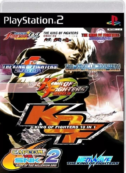 The King Of Fighters 10 Em 1 - Playstation 2