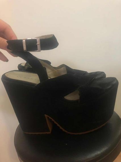 Sandalias Zapato Mujer Plataforma Nazaria