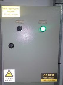 Quadro Painel Banco Capacitor 10kvar 380v - Semi Automático
