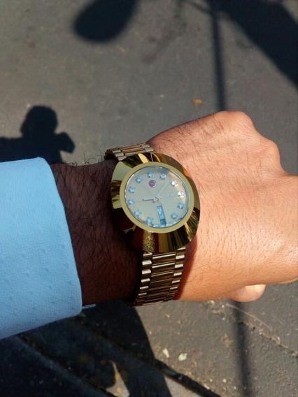 Reloj Rado Diastar Tugsteno Dorado