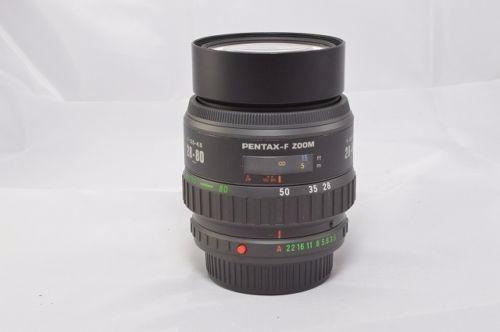 Lente Pentax-f Zoom 28-80mm F3.5-4.5 Macro Seminova
