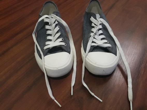 Zapatillas De Jean H&m Talle 40