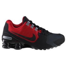 Tenis Nike Shox Avenue Preto/vermelho Original