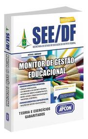 Apostila See-df - Monitor De Gestão Educacional - 2019