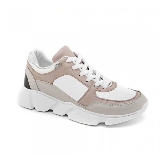 Tênis Feminino Marina Mello Chunky Sneaker Couro