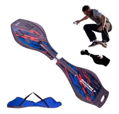 Imagem 1 de 5 de Rocking Skateboard Wave Surf 90 Kg Skate Abs/pc Abec-7 Bel