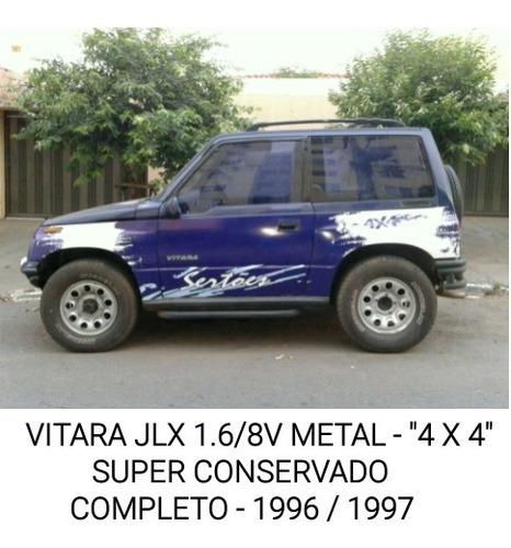 Imagem 1 de 10 de Vitara 1.6/8v - Jlx Metal - 2 Portas - 4 X 4 - 1996/1997