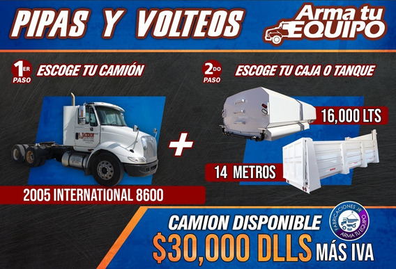 Camion International 2005 Pipa De Agua, Volteo