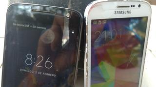 Samsumg Grand Neo Y Moto G Play Usados Funcionando (los Dos)