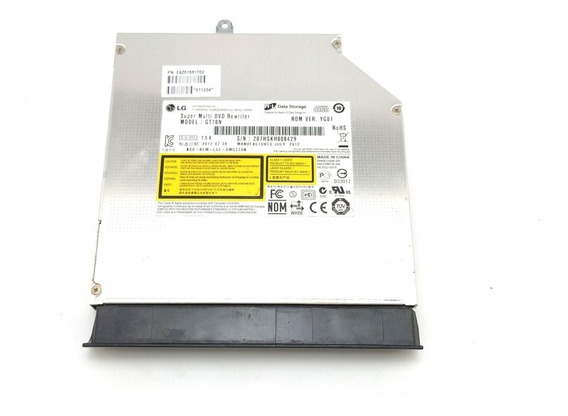 Drive Gravador Cd Dvd Sata Notebook Lg S460