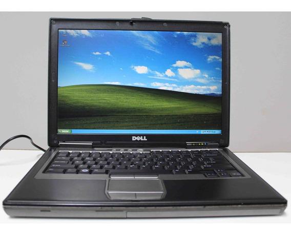 Notebook Dell Latitude D620 Core 2 Duo 2gb 80gb Db9 - Win Xp