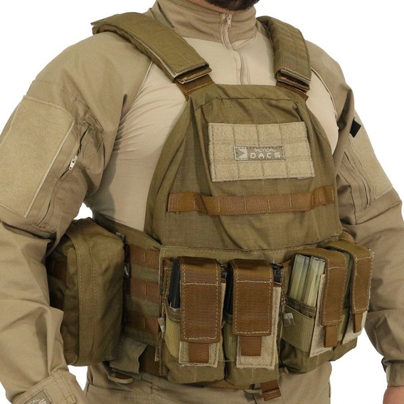Colete Tatico - Plate Carrier - Coyote