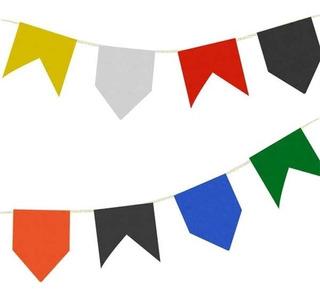 Bandeira Junina Plástica 50 Pacotes Com 10 Metros Cada