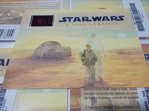 Star Wars Card Raro Senitype Novo E Lacrado