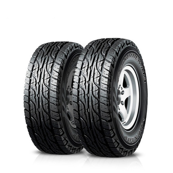 Kit X2 255/65 R16 Dunlop Grandtrek At3 + Tienda Oficial