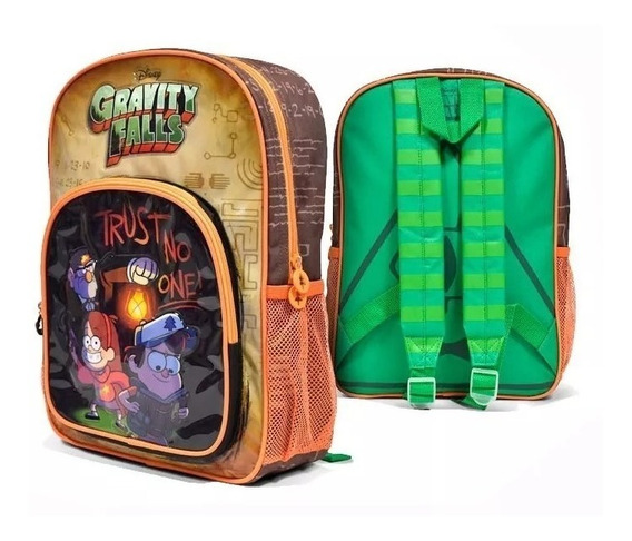 Mochila Gravity Falls 15´ Original Itoys
