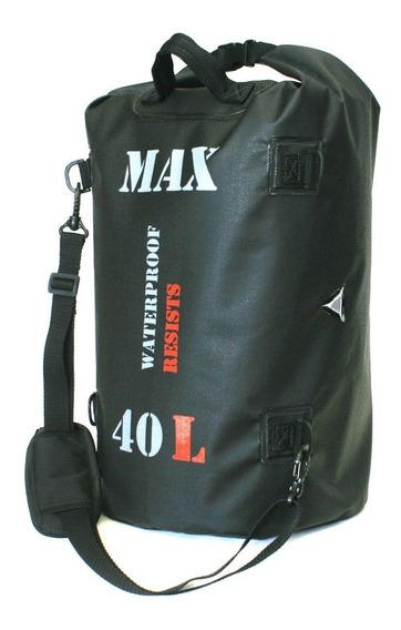 Bolsa Impermeável Para Viagem Motociclista Moto Max Bag 40