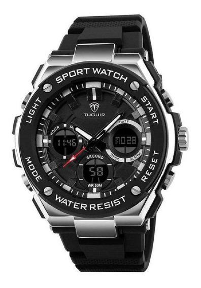 Relógio Masculino Digital Tuguir Tg1187 Original