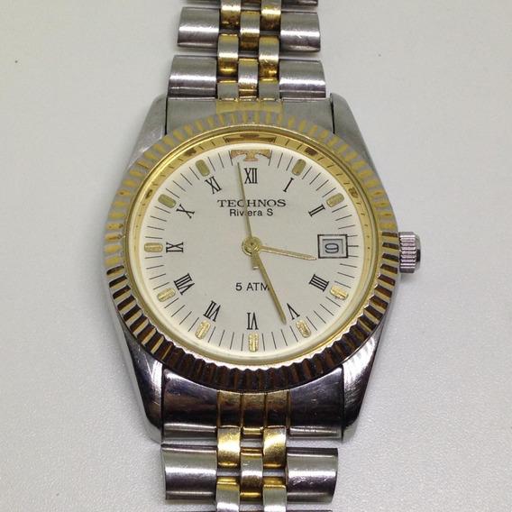 Relógio De Pulso Technos Riviera S Feminino U05754 Webclock