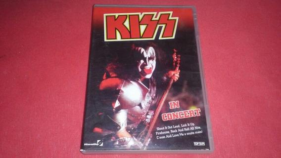 Dvd Kiss In Concert Usado Bom Estado Frete 10.00