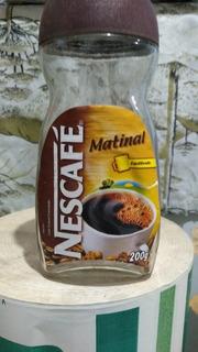Vidro De Nescafé Matnal Vazio