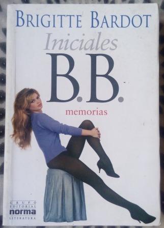 Livro - Iniciales B.b. Memorias