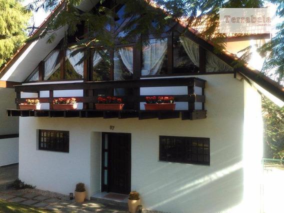 Casa Residencial Para Locação, Condomínio Vista Alegre - Sede, Vinhedo. - Ca0165