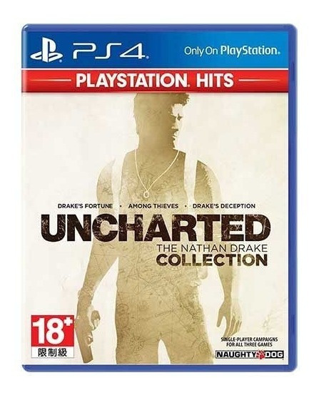 Uncharted The Nathan Drake Collection - Ps4 - Mídia Fisica !