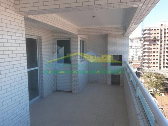 Apartamento Na Guilhermina, 3 Dormitórios, Terraço Gourmet. Só Na Imobiliária Em Praia Grande. - Mp9531