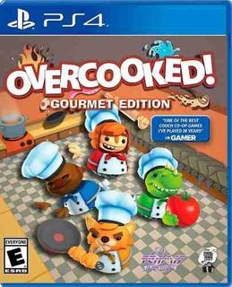 Juego Ps4 Overcooked Gourmet Edition