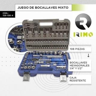 Juego De Bocallaves Y Acc Enc 1/2 Y 1/4 101 Piezas Bahco Mm
