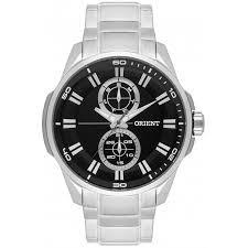 Relógio Orient Mbssm078-p1sx Analógico Caixa De Aço Inox