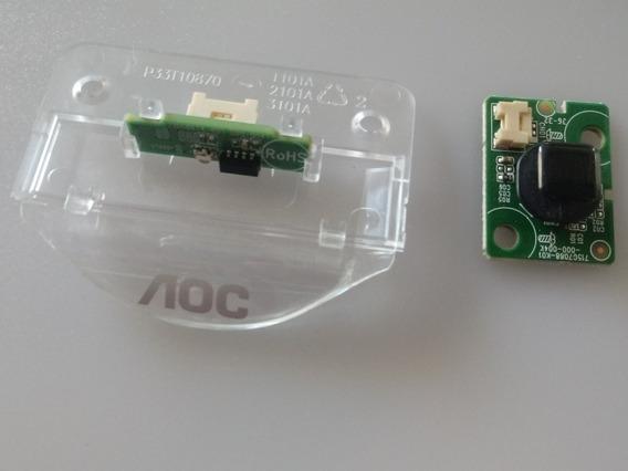 Sensor +butao Pawer Tv Aoc Le43s5970 Le43s5977 Funcionando