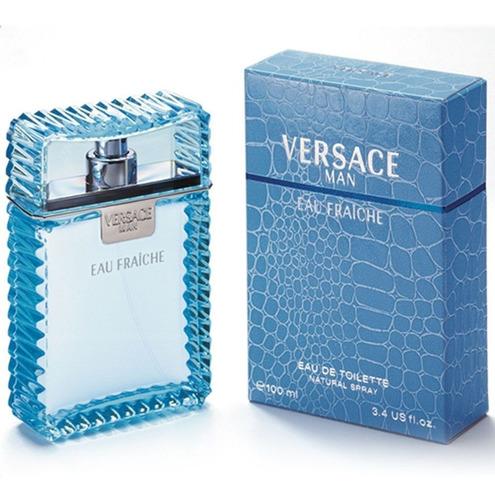 Perfume Locion Versace Man Eau Fraiche Original Sellado 100m