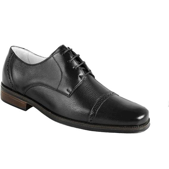 Sapato Casual Masculino Oxford Sandro Moscoloni Gibbs Preto