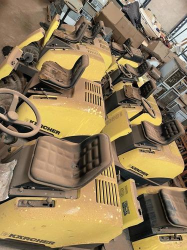 Varredeira Karcher Kmr 1050 Sucata P/ Retirada De Peças