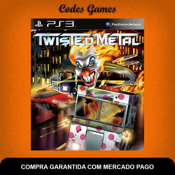 Twisted Metal - Classico Do Ps1 - Ps3 - Pronta Entrega