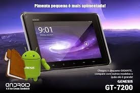 Tablet Genesis Novo Na Caixa
