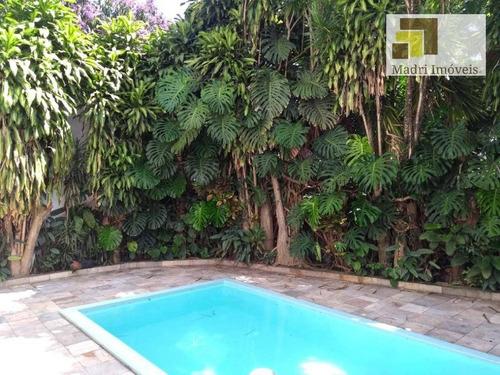 Casa Com 3 Dormitórios À Venda, 250 M² Por R$ 2.120.000,00 - Vila Madalena - São Paulo/sp - Ca0022