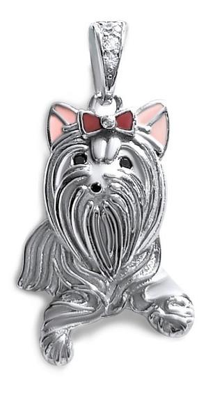 Charm Plata 925 Perro Yorkshire Mascota / Aranyjoyas