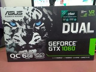 Gtx 1060 6gb Gddr5 Asus Dual - Oc Edition